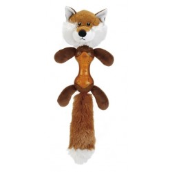 Beeztees koera mänguasi birin rebane kumm+tekstiil 43cm