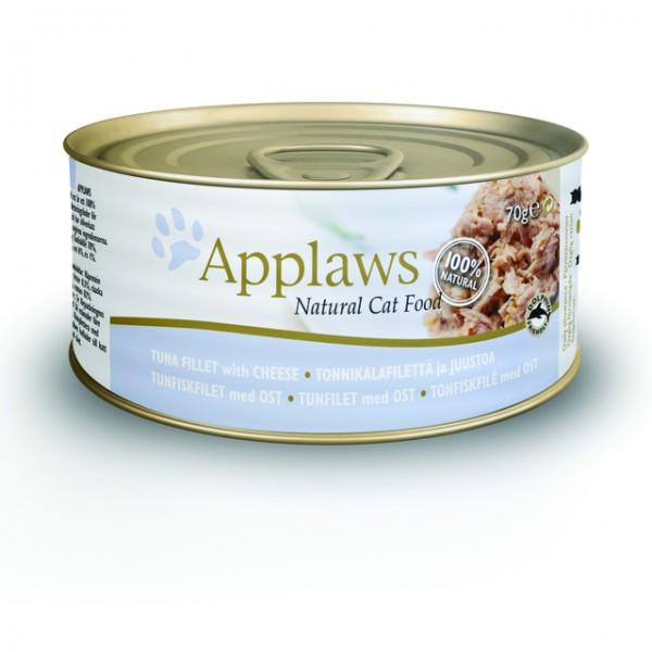 Applaws kassi konserv tuunikala/juust 70g n1