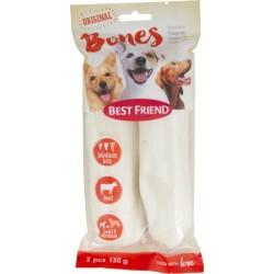Bf koera maius bones närimisrull valge m/m 130g n2