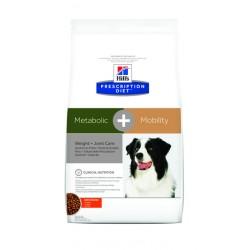 Hills pd koera täissööt metabolic + mobility 12kg