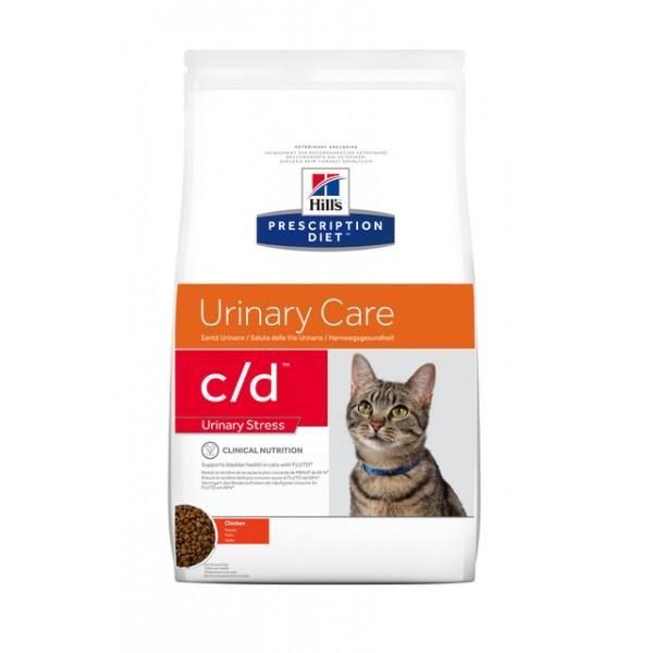 Hills pd kassi täissööt c/d stress 4kg