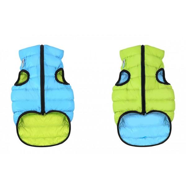 Collar koera vest airyvest xs 25cm roheline/sinine