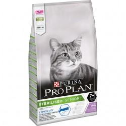 Pro plan kassi täissööt steril 7+ kalkun 10kg