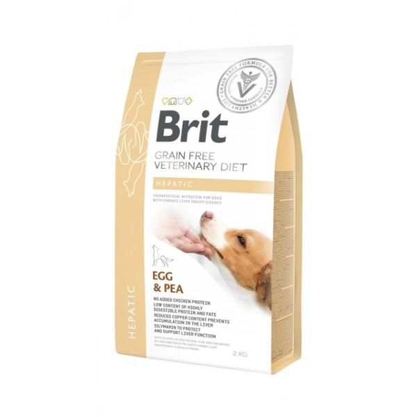 Brit gf ravitoit koertele hepatic 2kg