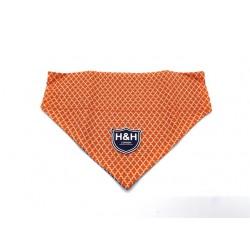 H&h koera kaelarätt s 27-37cm oranž