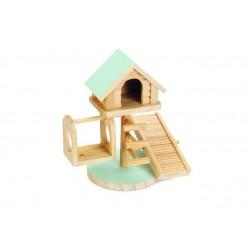 Beeztees väikelooma maja lovy mündiroheline 21cm