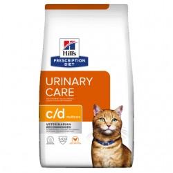 Hills pd kassi täissööt c/d kana 1,5kg