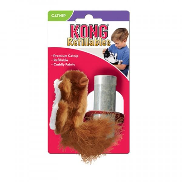 Kong kassi mänguasi tekstiil orav