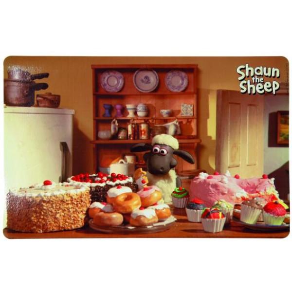 Alusmatt shaun the sheep 44x28cm photo motif