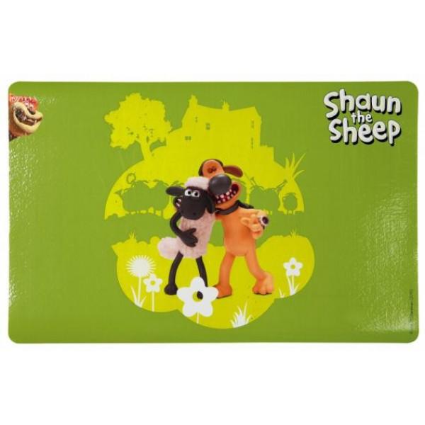 Alusmatt shaun the sheep 44x28cm green