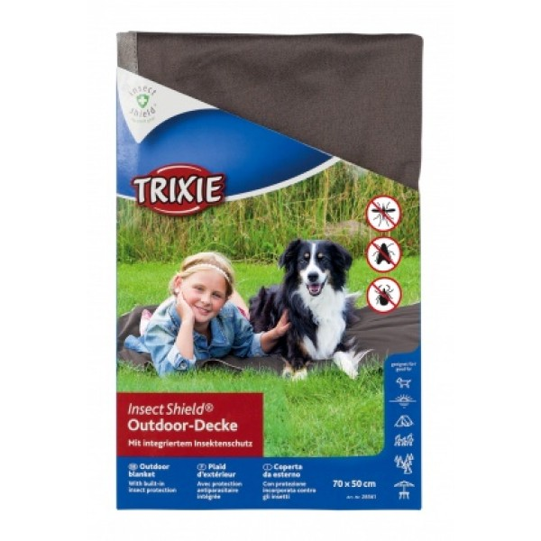 Tekk insect shield outdoor blanket 100x70cm