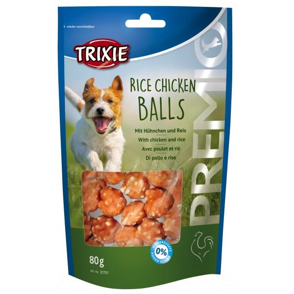 Koera maius premio \'rice chicken balls\' 80g.