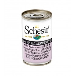 Schesir cat konserv kanaliha ja krevetid 140g